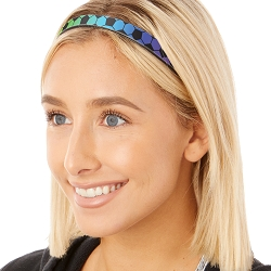 Hipsy Adjustable & Flexible No Slip Soccer Rainbow Windshield Wiper Blades Headband