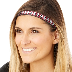 Hipsy Adjustable & Flexible No Slip Soccer Balls Red Windshield Wiper Blades Headband