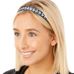 Hipsy Adjustable & Flexible No Slip Soccer Balls Navy Windshield Wiper Blades Headband