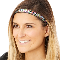 Hipsy Adjustable & Flexible No Slip Soccer Balls Tie Dye Windshield Wiper Blades Headband