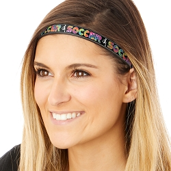 Hipsy Adjustable & Flexible No Slip Running Soccer Tie Dye Windshield Wiper Blades Headband