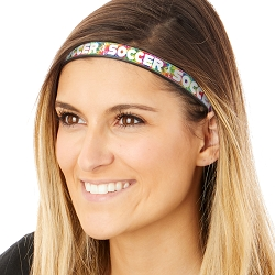 Hipsy Adjustable & Flexible No Slip Kicking Soccer Tie Dye Windshield Wiper Blades Headband
