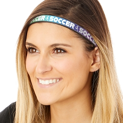 Hipsy Adjustable & Flexible No Slip Kicking Soccer Rainbow Windshield Wiper Blades Headband
