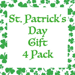 Hipsy St Patricks Day Clover Headband Gift 4 Pack