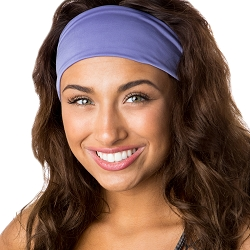 Hipsy Unisex Adjustable Spandex Xflex Basic Violet Headband
