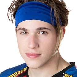 Hipsy Unisex Adjustable Spandex Xflex Basic Royal Blue Headband