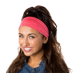 Hipsy Unisex Adjustable Spandex Xflex Crushed Coral Headband