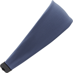 Hipsy Unisex Adjustable Spandex Xflex Soft Basic Steel Blue Headband