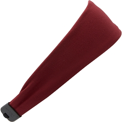 Hipsy Unisex Adjustable Spandex Xflex Soft Basic Brick Red Headband