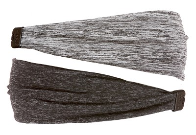Best Birthday & Holiday Gifts for Girls! Heather Charcoal & Grey Xflex Headband Gift Set 2pk